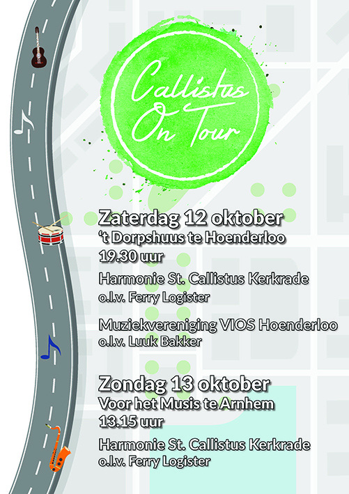 Poster Callistus on Tour
